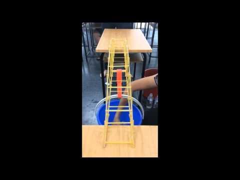 Testing Fettuccine Truss Bridge