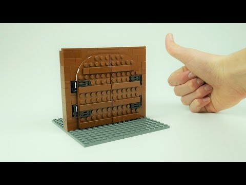 How to BUILD a LEGO Fortress Gate