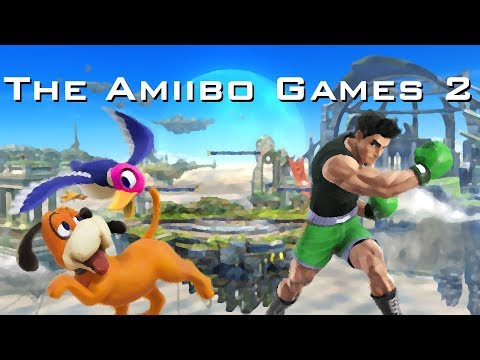 The Amiibo Games 2 - Round 1 Set 5   Snoopy (Duck Hunt) vs. Mike Tyson (Little Mac)