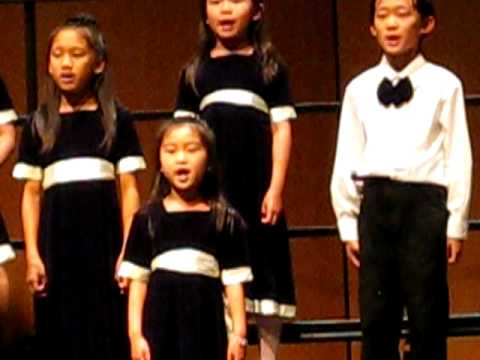 Elysha's Crystal Choir Performance
