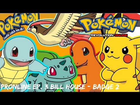 Pokemon Revolution Online - EP. 3 Bill's House/Cerulean Badge #2