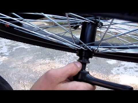 TUTORIAL - How to make freewheel pedals on trike - How to build ?