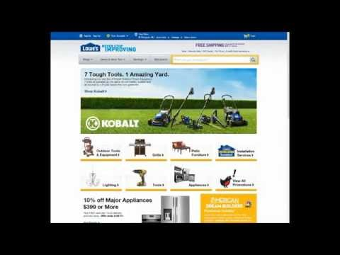 How To Apply Lowes Coupon Promo Code 10% off