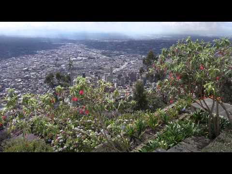 Sony FDR AX100 4K Video: Seeing Bogota from Mount Monserrate and Below