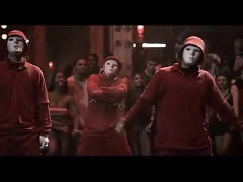 Red mask men || step up