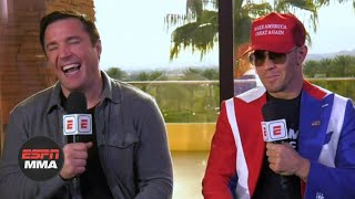 Chael Sonnen and Colby Covington relive their best trash talking moments   UFC 245   ESPN MMA