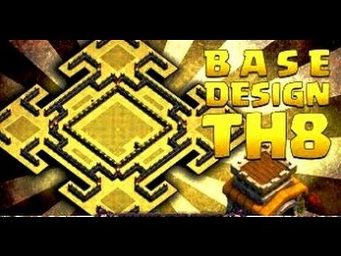 Th8 War Base Design Best Layouts Defense Daikhlo