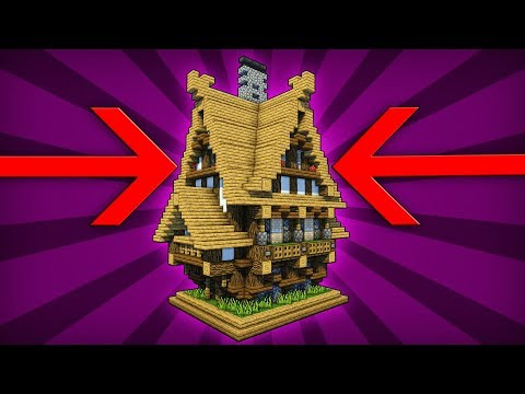 How to Build a Medieval House - Minecraft Tutorial