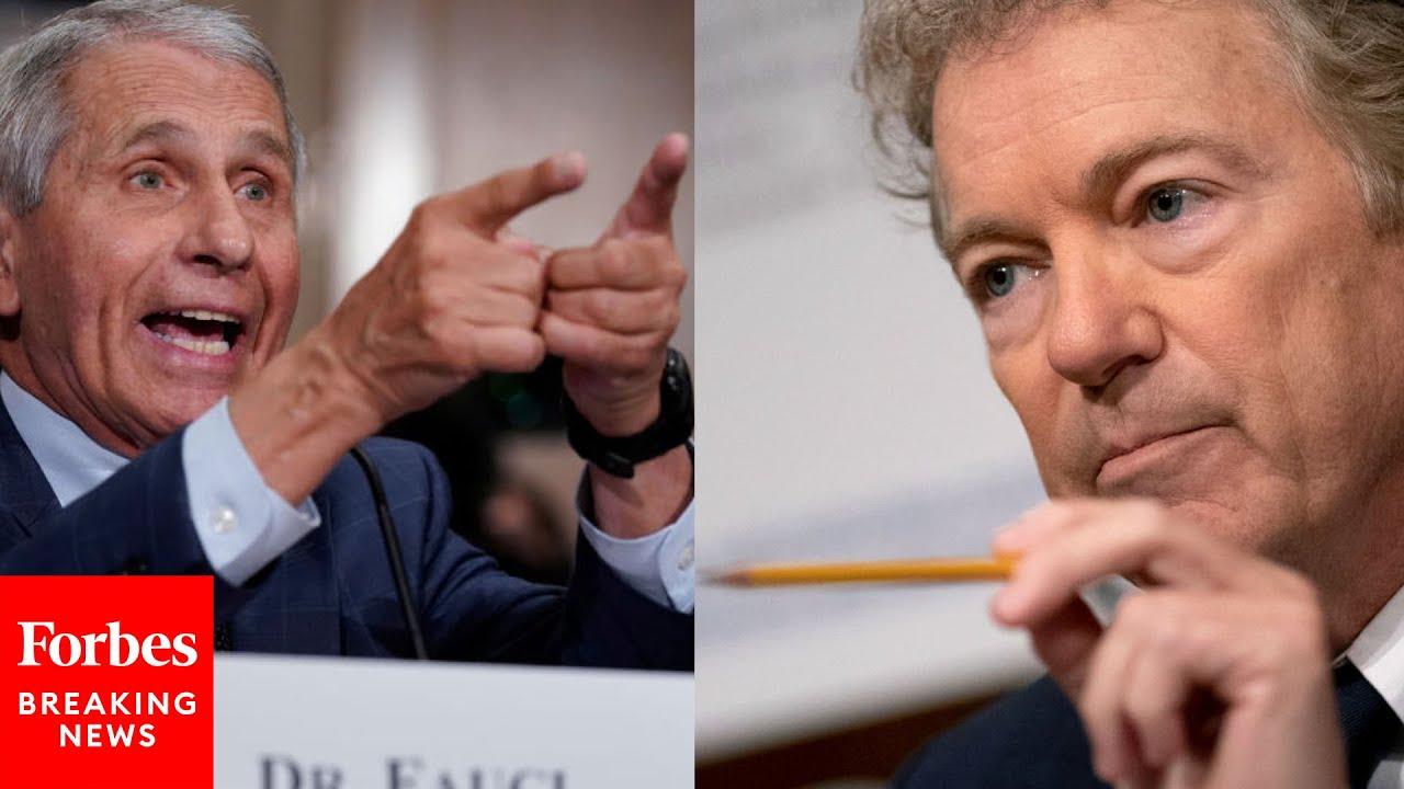 Rand Paul Vs. Dr. Fauci: Their Three Most Recent Senate Hearing Clashes