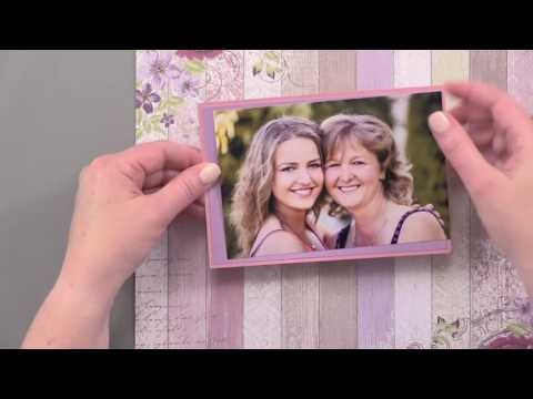 Scrapbooking 101: How to do Photo Matting for Scrapbooking Layouts