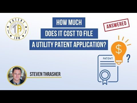 Answered-How Much Does It Cost to File a Utility Patent Application?