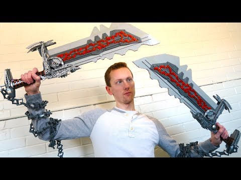 LEGO Kratos' Blades of Chaos - God of War