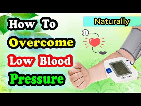 Low Blood Pressure Treatment With 5 Natural Foods