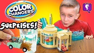 Cars Color Changers AND Wind Ups Toys Review by HobbyKidsTV