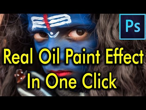 Photoshop oil painting effect - Free adobe photoshop oil painting plugin | By - Being Artist