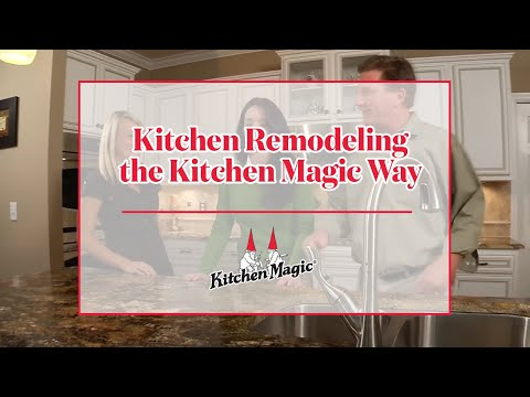Kitchen Remodeling | The Kitchen Magic Way