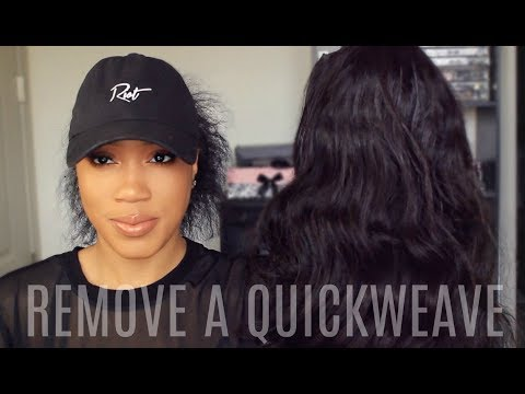 HOW TO REMOVE A QUICKWEAVE DETAILED TALK THROUGH