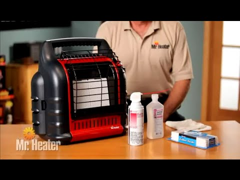 Mr. Heater F274800 MH18B Big Buddy Portable Propane Heater - Cleaning and Maintenance