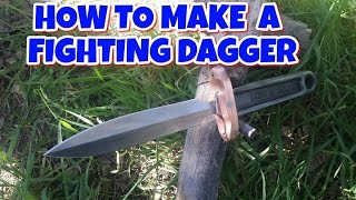 How To Make A Dagger - Wrench Fighting Dagger