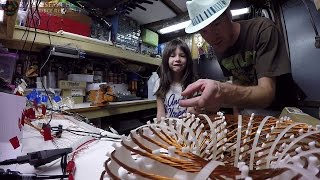 Learning About Vortex Coils With Riley & Her Dad... ( kids watch! ) Resonance! High Voltage! FUN!