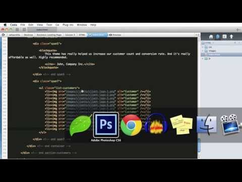 PSD to HTML - Lesson 4