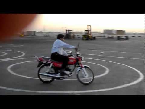 Motorcycle Skills Tests in Abu Dhabi, UAE