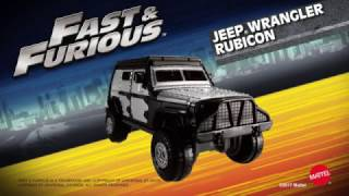Hot Wheels Fast & Furious Off-Road Octane Pack
