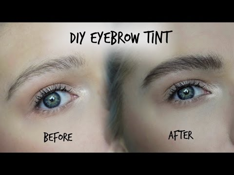 DIY EYEBROW TINT - Testing out Eylure DYBROW | LoveFings