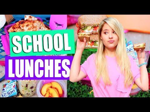 DIY Healthy(ish) School Lunch Ideas!