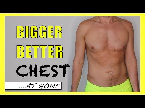 BUILD YOUR CHEST AT HOME | No Gym, No Equipment | How to Do Push-Ups CORRECTLY!