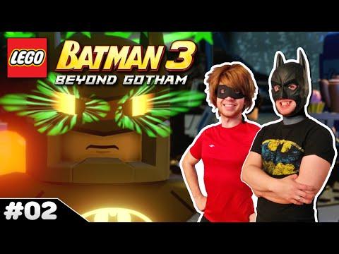 BRAINIAC CONTROLS BATMAN!┃LEGO Batman 3 ✪ Multiplayer #02
