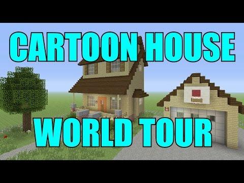 AMAZING CARTOON HOUSE WORLD TOUR!!!