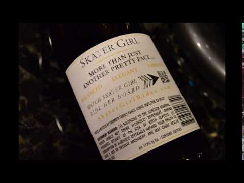 Coomber Family Ranch Wines: 2013 Skater Girl Limited Edition Pinot Noir Wine #Review #SkaterGirlWine