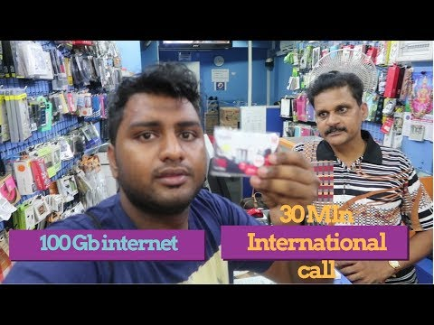 BEST AND CHEAP SIM CARD FOR TOURIST  || SINGAPORE ||
