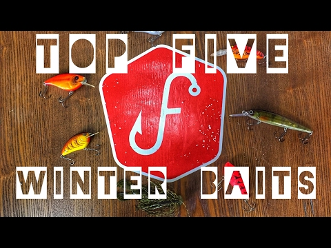 How to Fish - Top 5 Late Winter Bass Fishing Lures