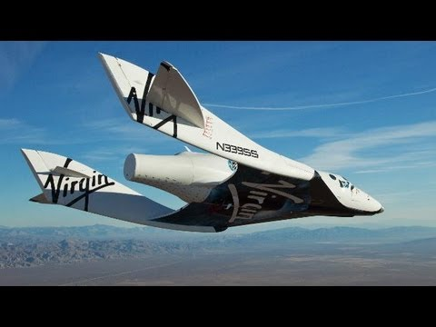 VIRGIN Galactic Commercial Space Travel Flights Start October 2012 For $200,000 Per Ticket