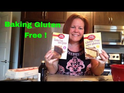Baking Gluten Free with  Betty Crocker Cake Mixes