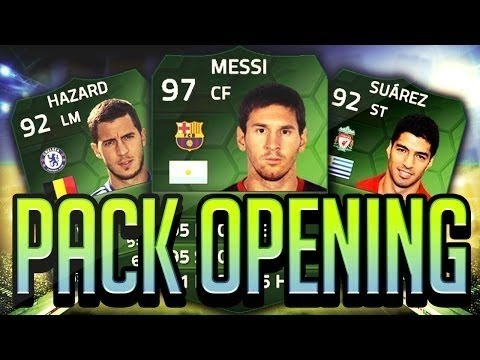 FIFA 14 iOS- SO MANY IMOTM IN ONE PACK OPENING !!!!