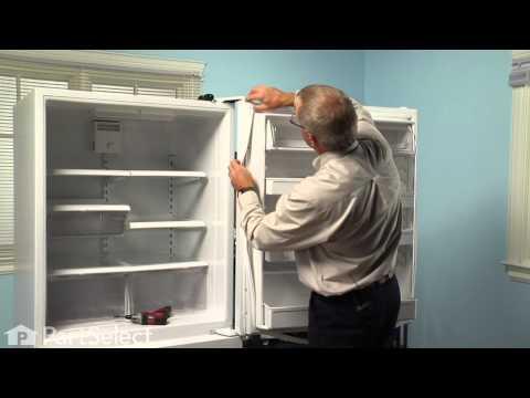 Refrigerator Repair- Replacing the Fresh Food Door Gasket (Whirlpool Part # 12550115Q)