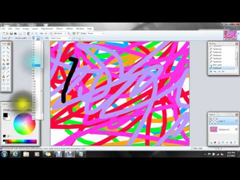 How To Make Black Scratch Paper On Paint.NET