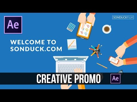After Effects Tutorial: Creative Agency Promo - Motion Graphics