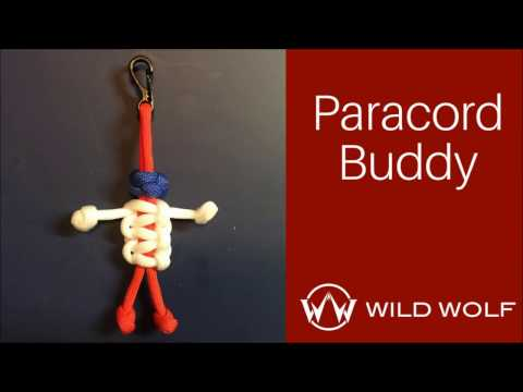Paracord Buddy - Paracord Person - Using Ranger Bead and Cobra Weave