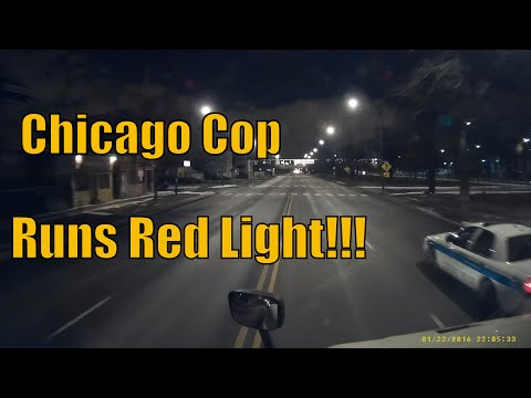 Chicago Cop Runs Red Light and other normal Illinois driving