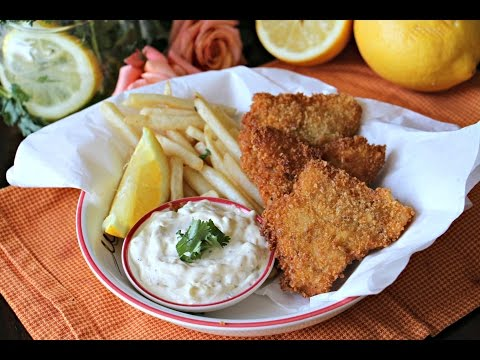 Spicy Fried Fish and Tartar Sauce