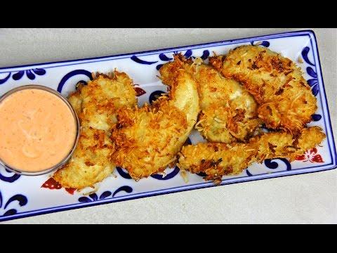 Coconut Chicken Tenders - Super Bowl Food | CaribbeanPot com