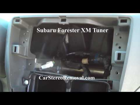 Subaru Forester XM Removal