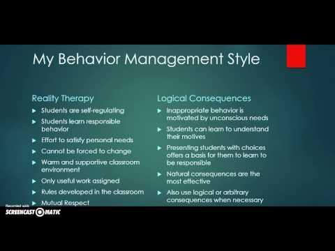 Behavior Management Powerpoint