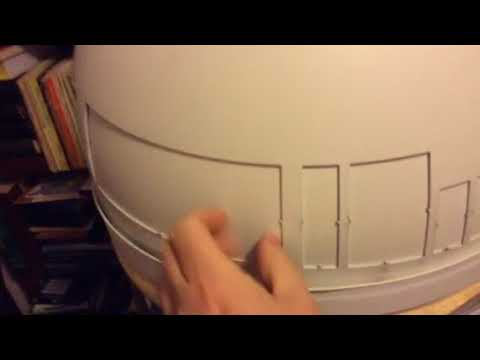R2D2 build at a stall