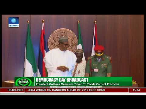 President Buhari Outlines Measures Taken To Tackle Corruption Practices |News Across Nigeria|