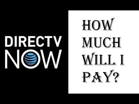 DirecTV Now - How Much Will I Pay? - How Much is This Going to Cost Me? - Review
